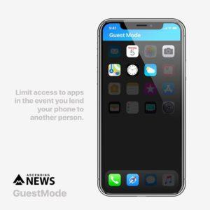 """Conceito para o iOS 12 - """"Modo Convidado"""""""