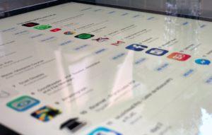 App Store brasileira no iPad Pro
