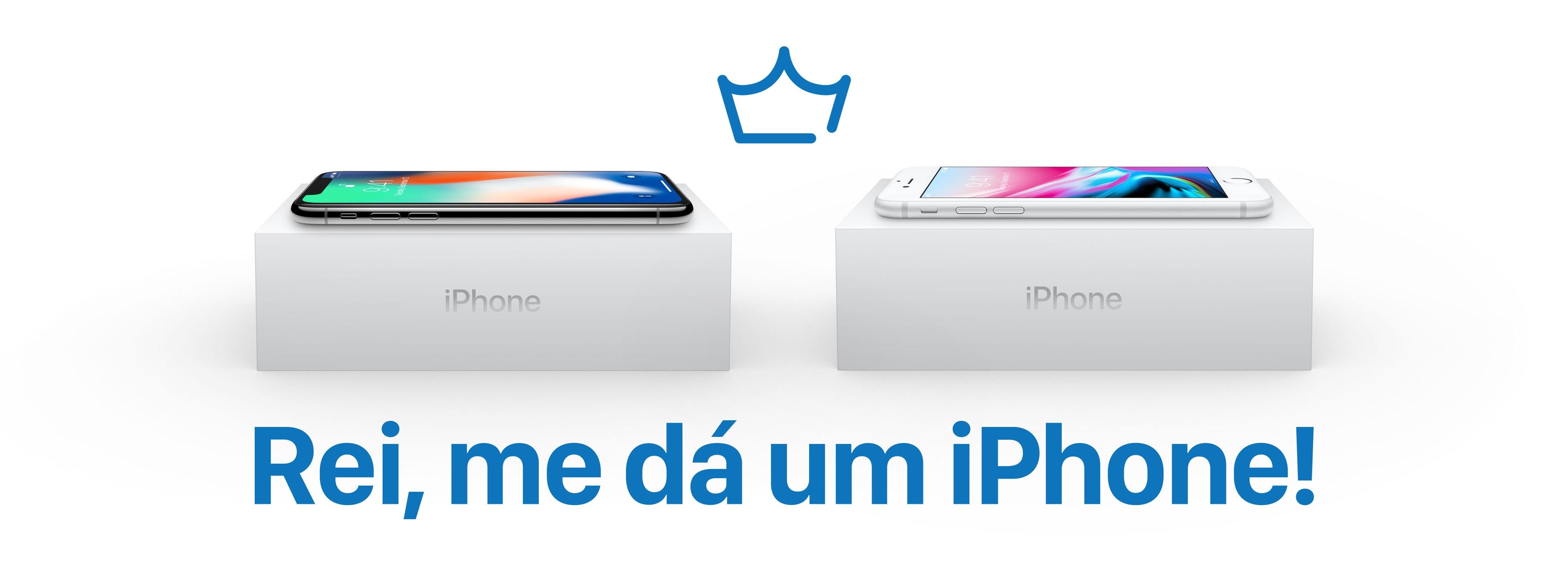 Promoção - Rei me dá um iPhone!