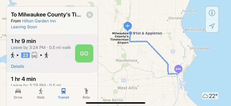 Mapas Milwaukee