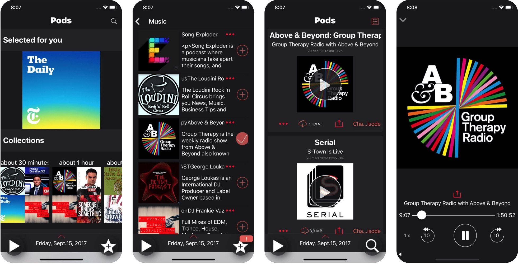 App Pods para iOS