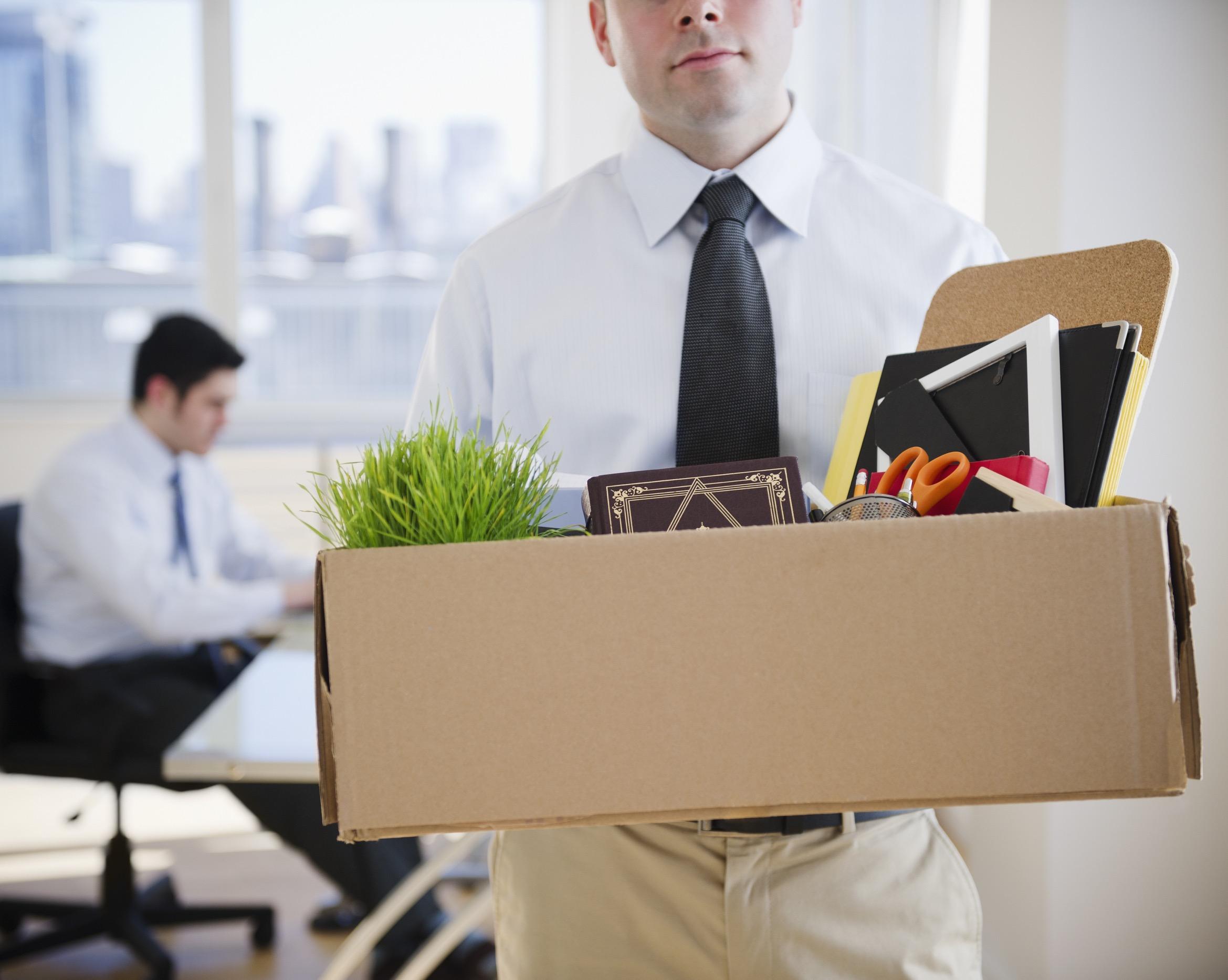 Saindo do emprego