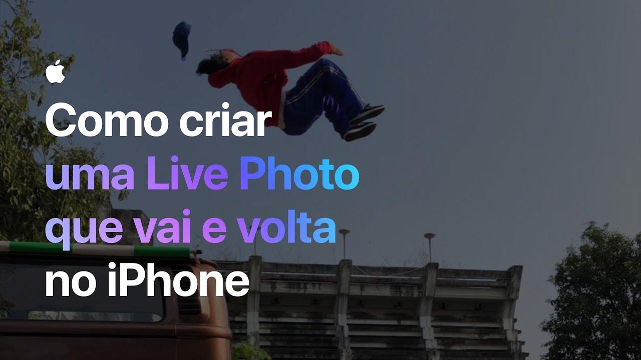 Comercial da Apple (Live Photo)