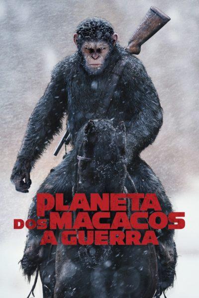"""Pôster do filme """"Planeta dos Macacos - A Guerra"""""""