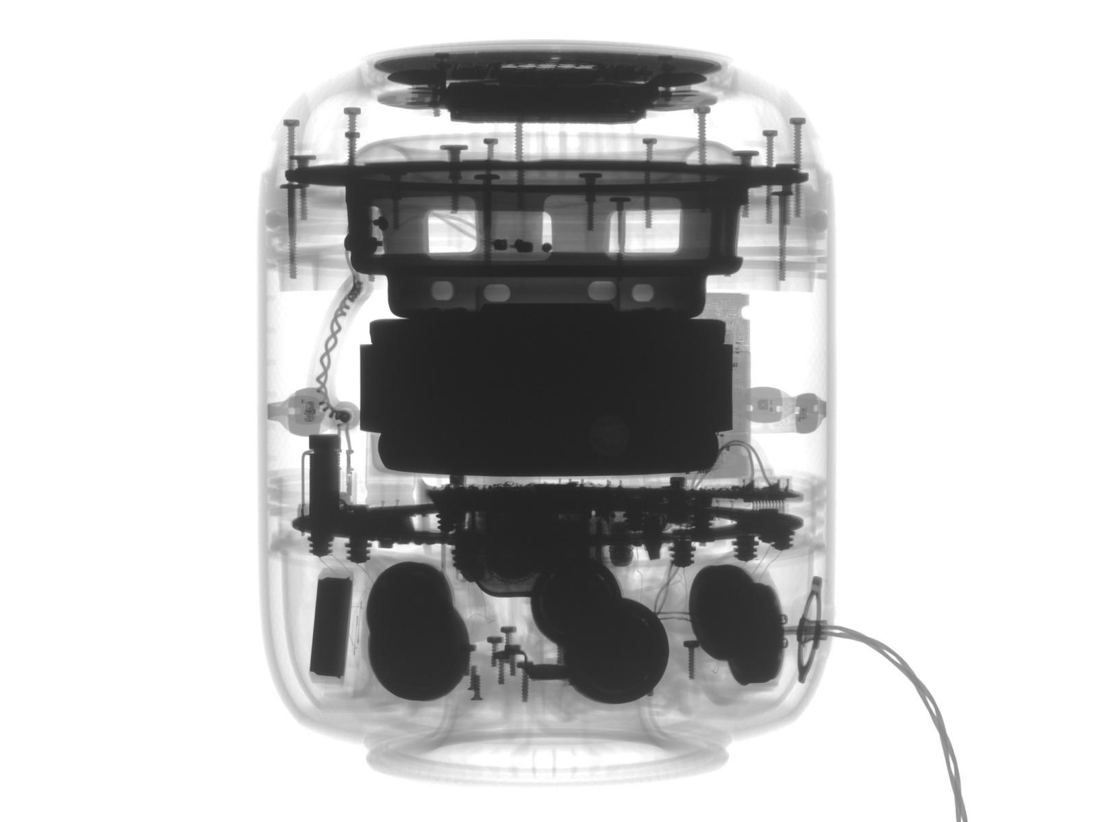 Desmontagem do HomePod feita pela iFixit