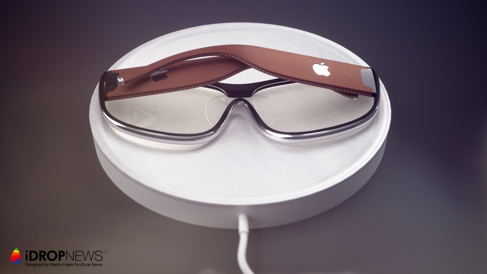 "Conceito para o ""Apple Glass"""