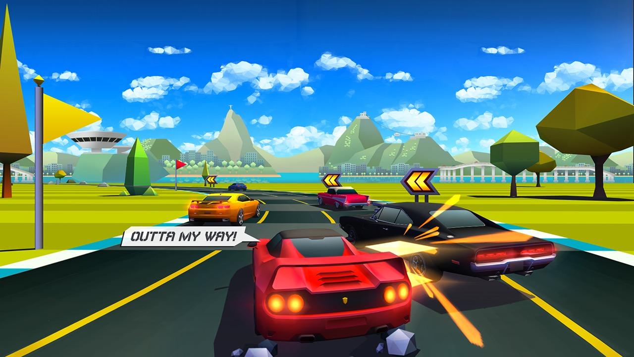 Jogo Horizon Chase para iOS