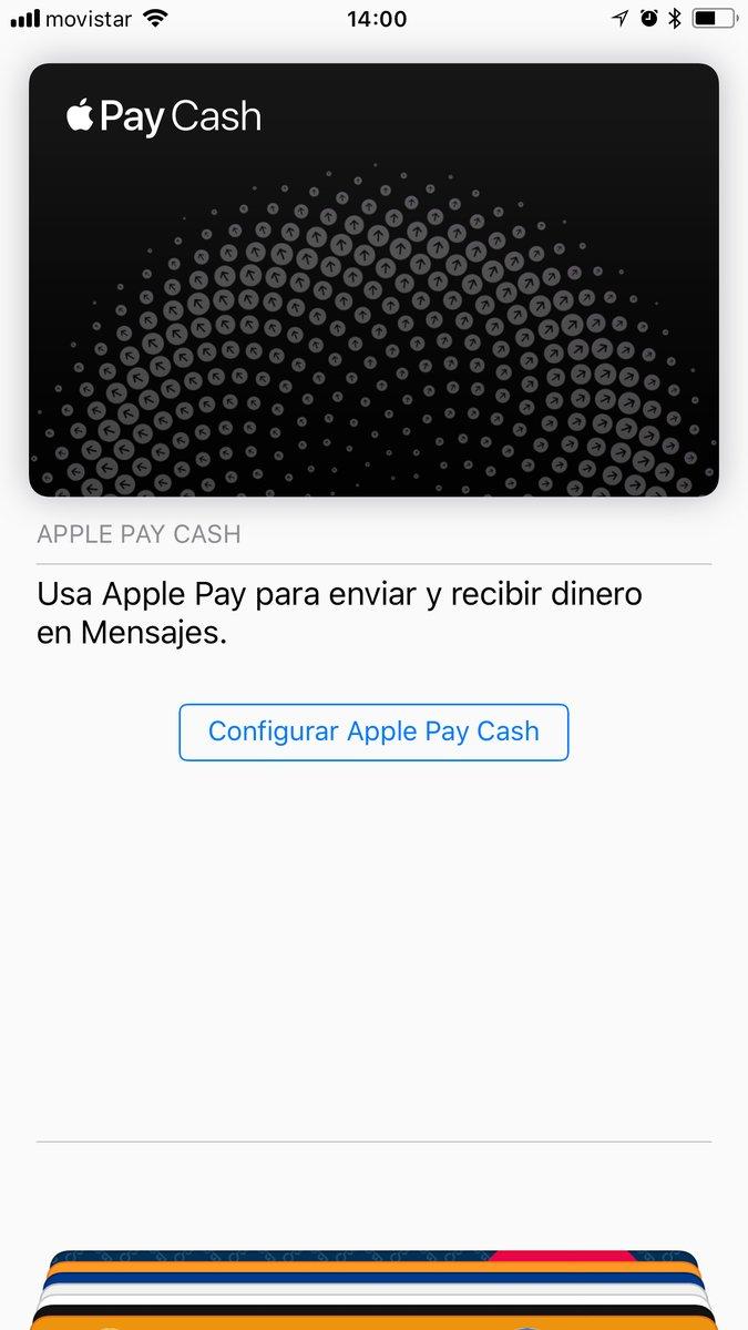 Recurso Apple Pay Cash sendo testado na Espanha