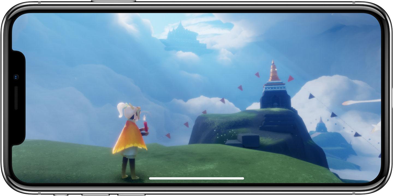 Jogos rodando no chip A11 Bionic do iPhone X