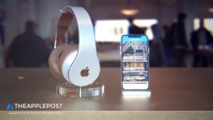 Conceito dos novos fones de ouvido da Apple