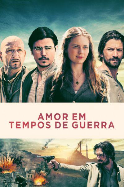 """Pôster do filme """"Amor em Tempos de Guerra"""""""