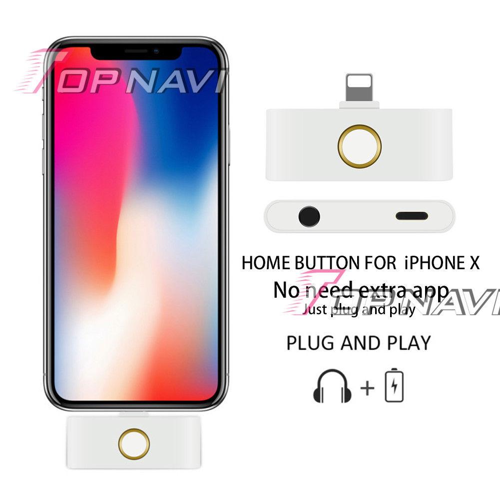 Acessório que adiciona botão de início ao iPhone X