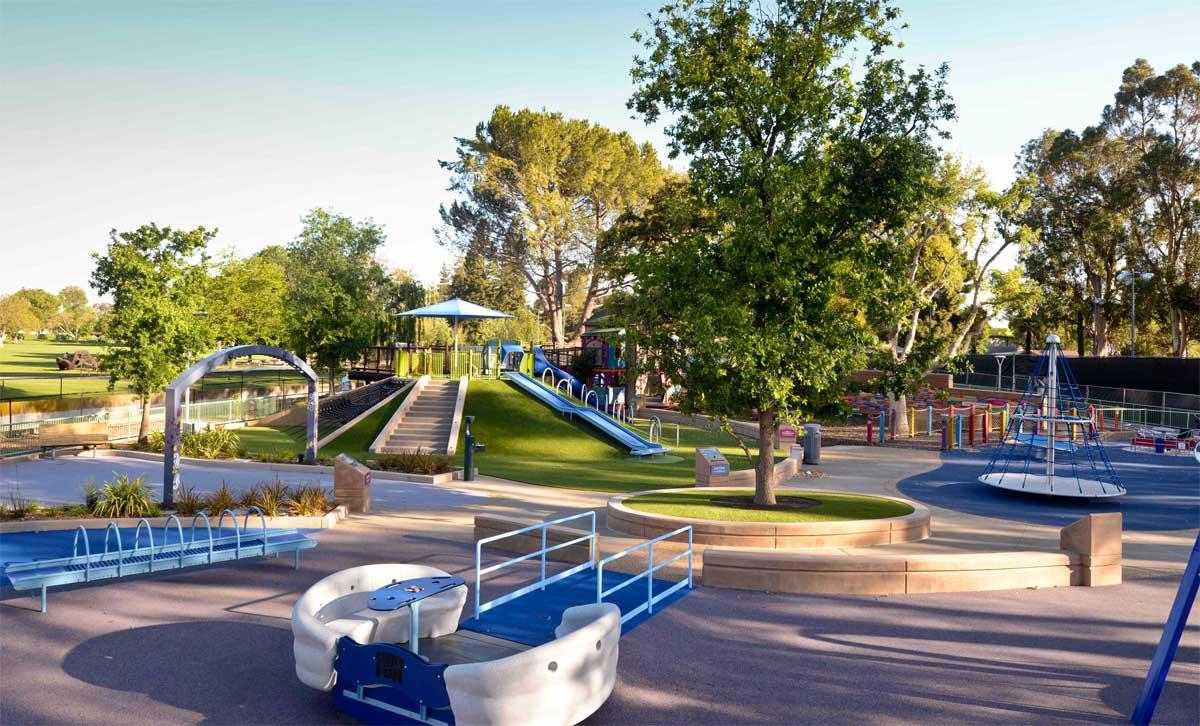 Magical Bridge Playground, em Palo Alto