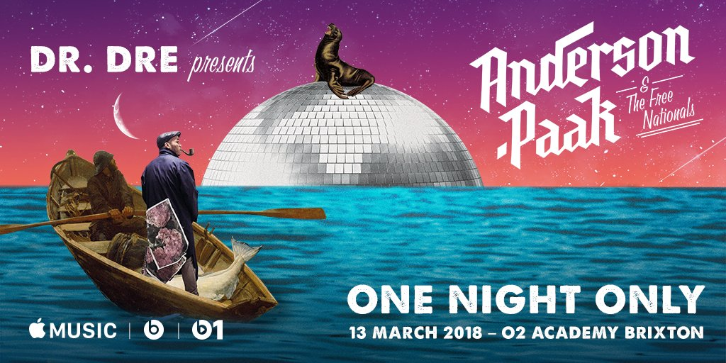 Show Anderson .Paak Apple Music
