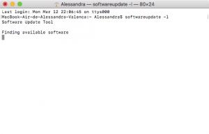 Atualizando o macOS pelo Terminal