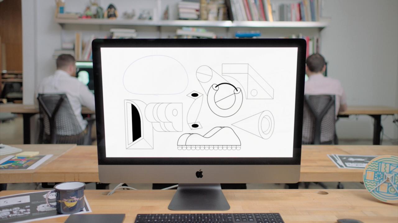 Curtas produzidos no iMac Pro