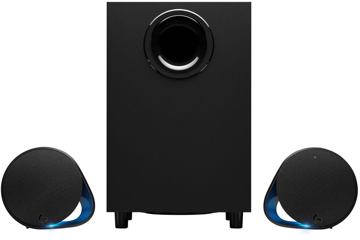 Alto-falantes Logitech G560 com iluminação RGB