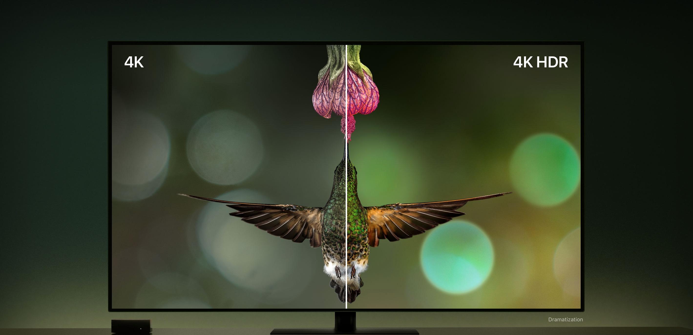 Diferença entre uma TV 4K e uma 4K/HDR