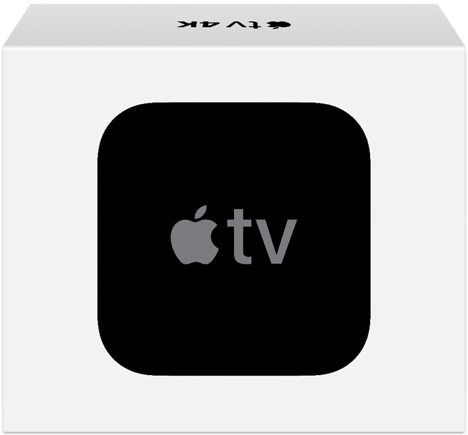 Caixa da Apple TV 4K