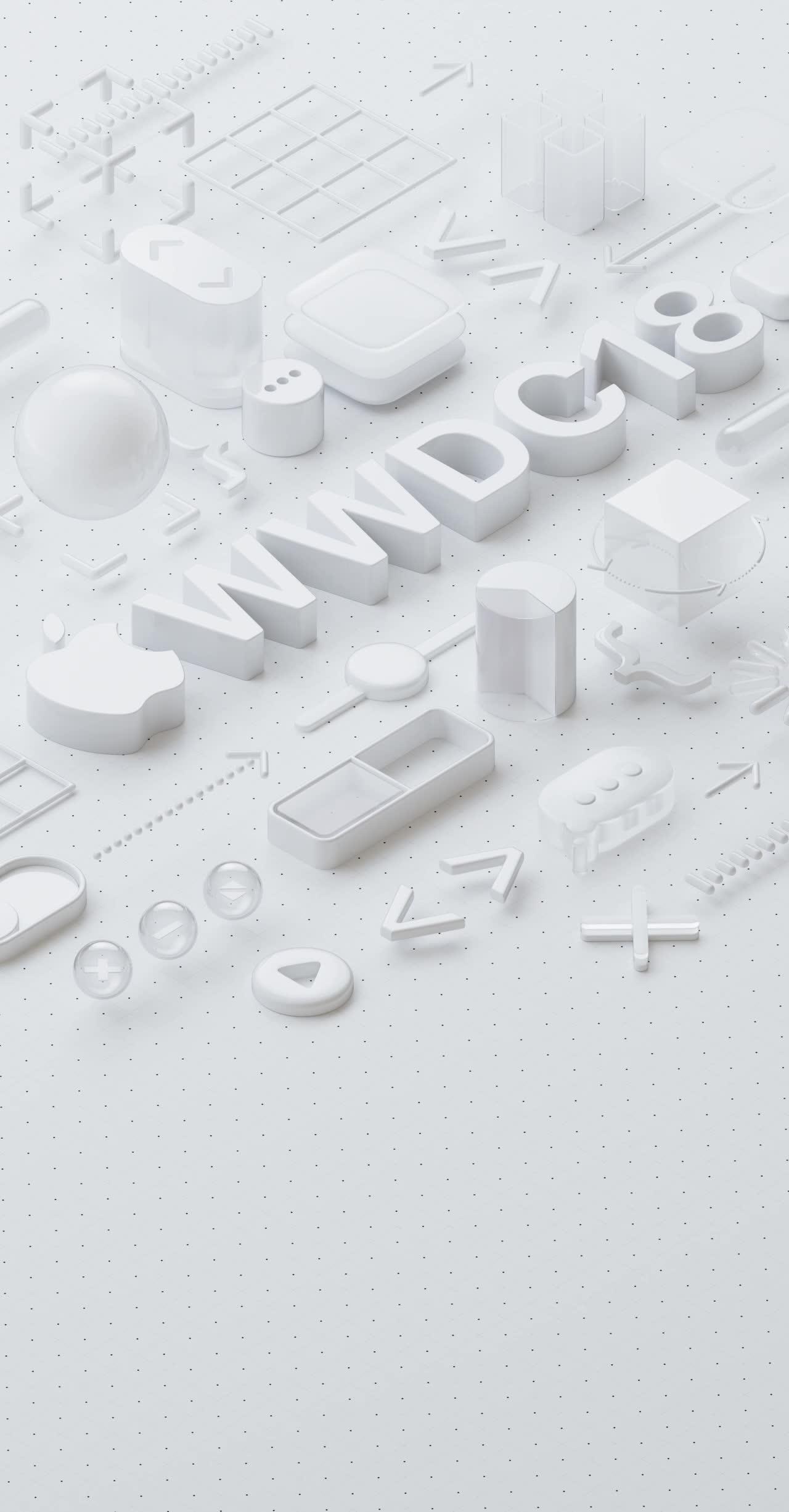 Wallpaper da WWDC 2018