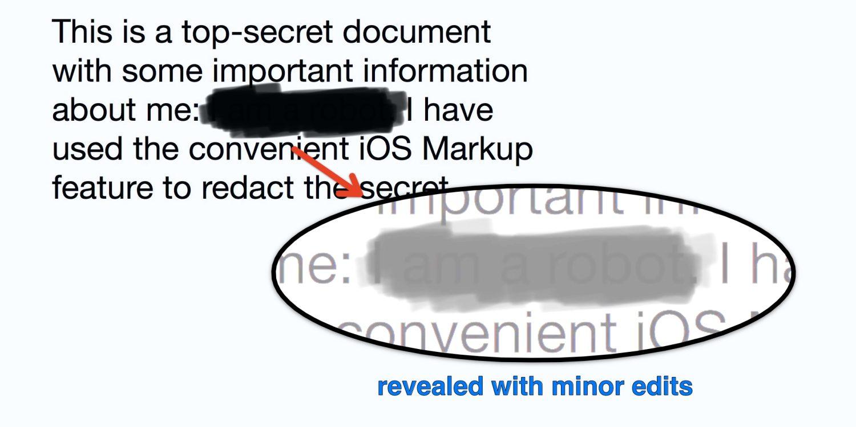 Teste do 9to5Mac mostra a ineficácia da ferramenta Marcação para ocultar informações