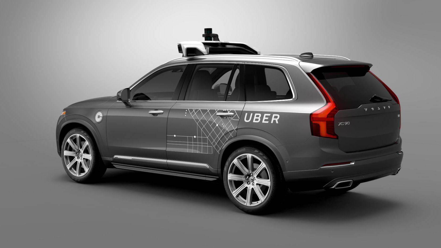 Carro autônomo da Uber