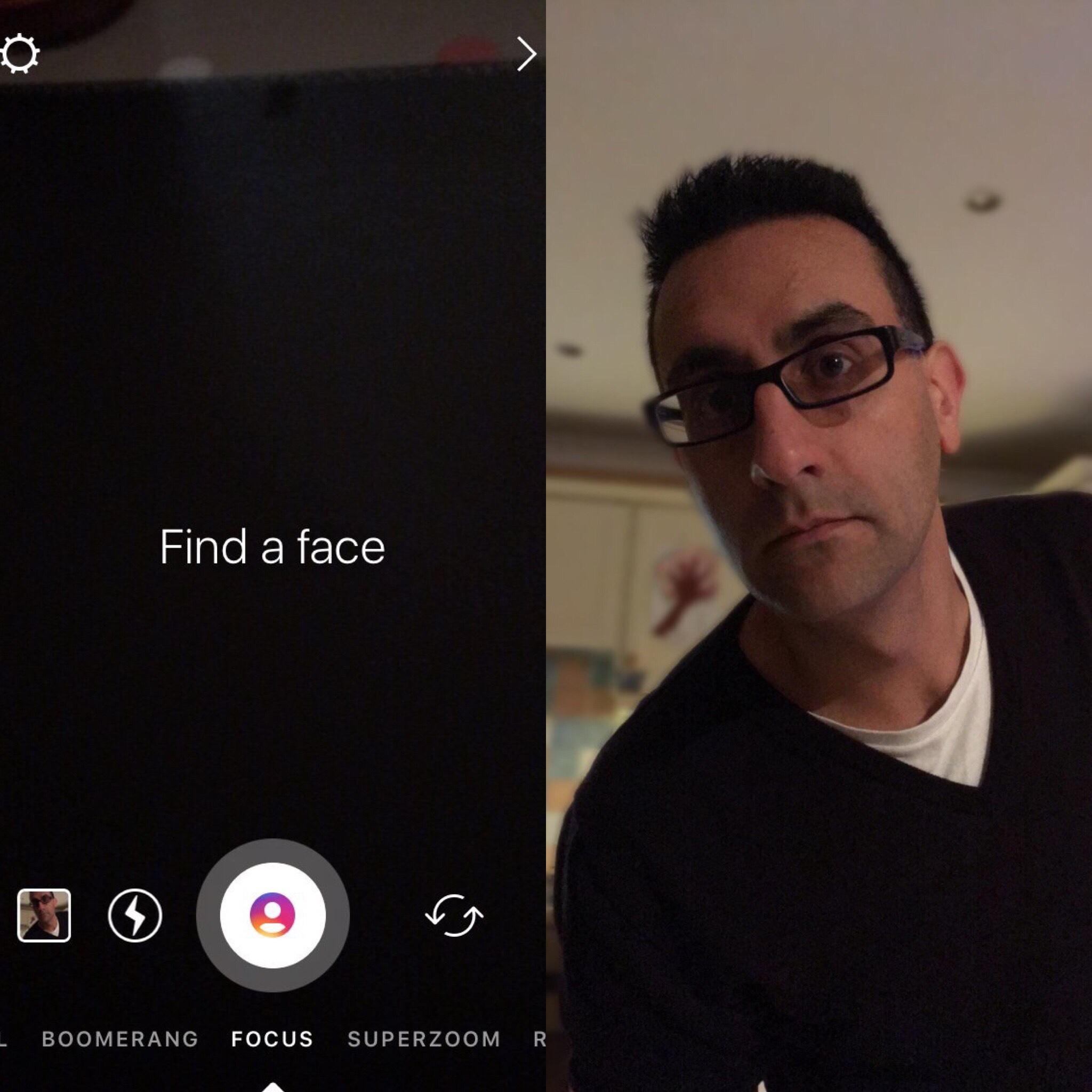 Possível modo Retrato a ser incluído no Instagram