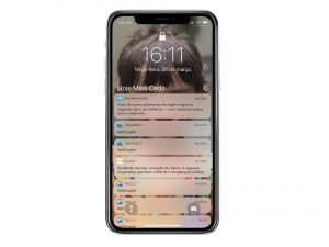 Notificações no iOS 11/iPhone X