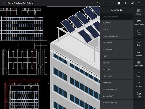 CorelCAD Mobile, da Corel, para iPhone e iPad