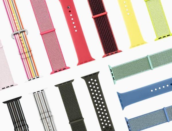 Novas pulseiras pro Apple Watch