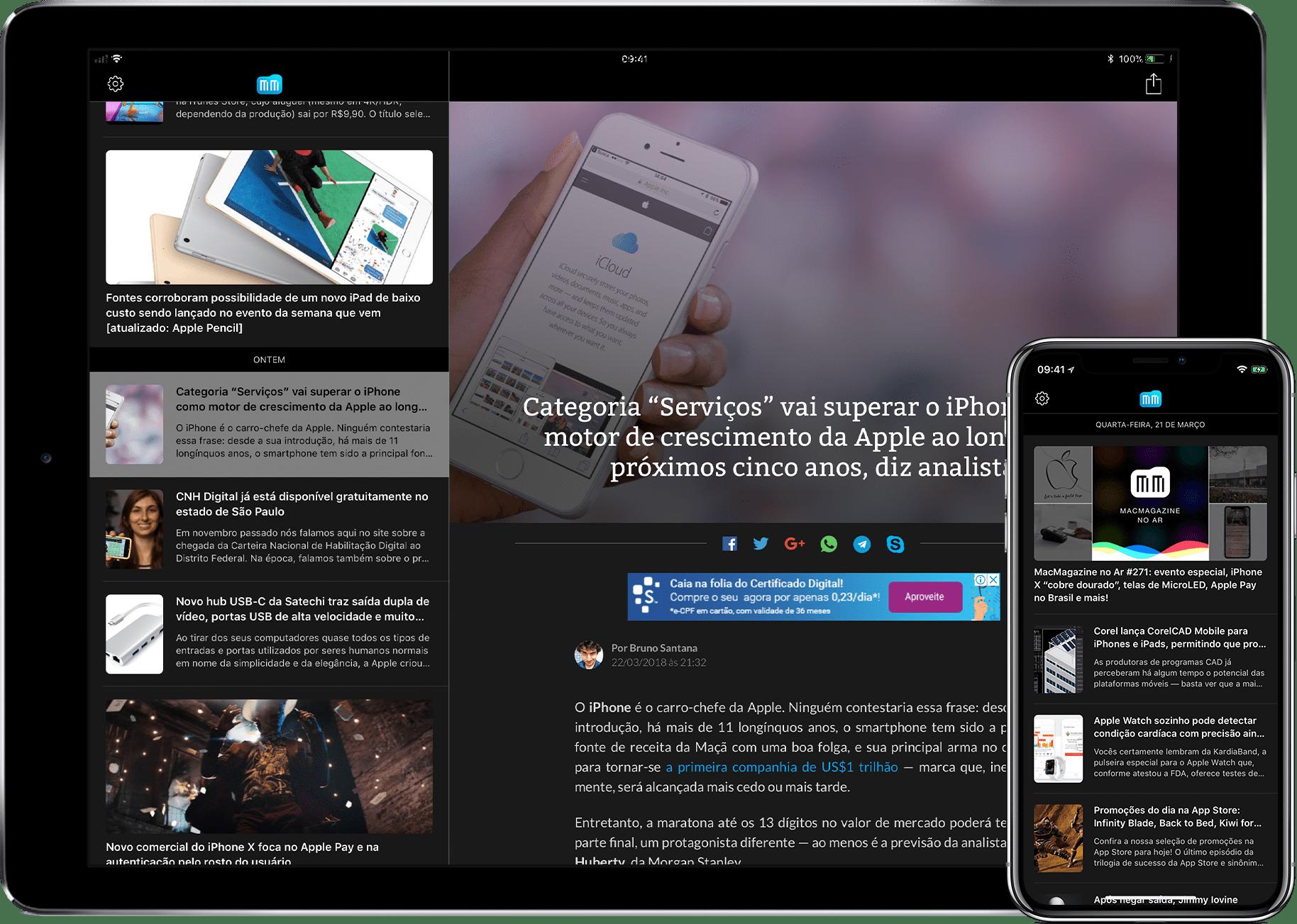 MacMagazine 3.2 para iOS