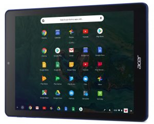 Chromebook Tab 10, tablet da Acer rodando Chrome OS