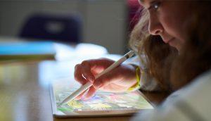 Novo iPad de 9,7 polegadas com suporte ao Apple Pencil