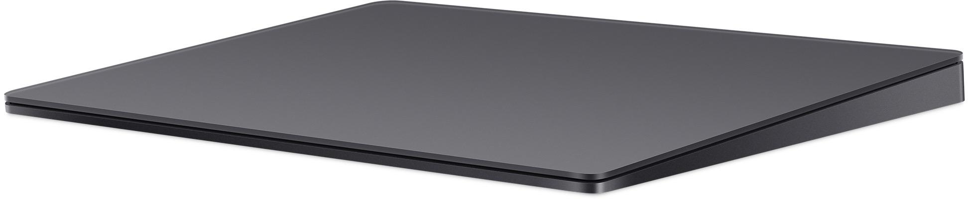 Magic Trackpad 2 na cor cinza espacial