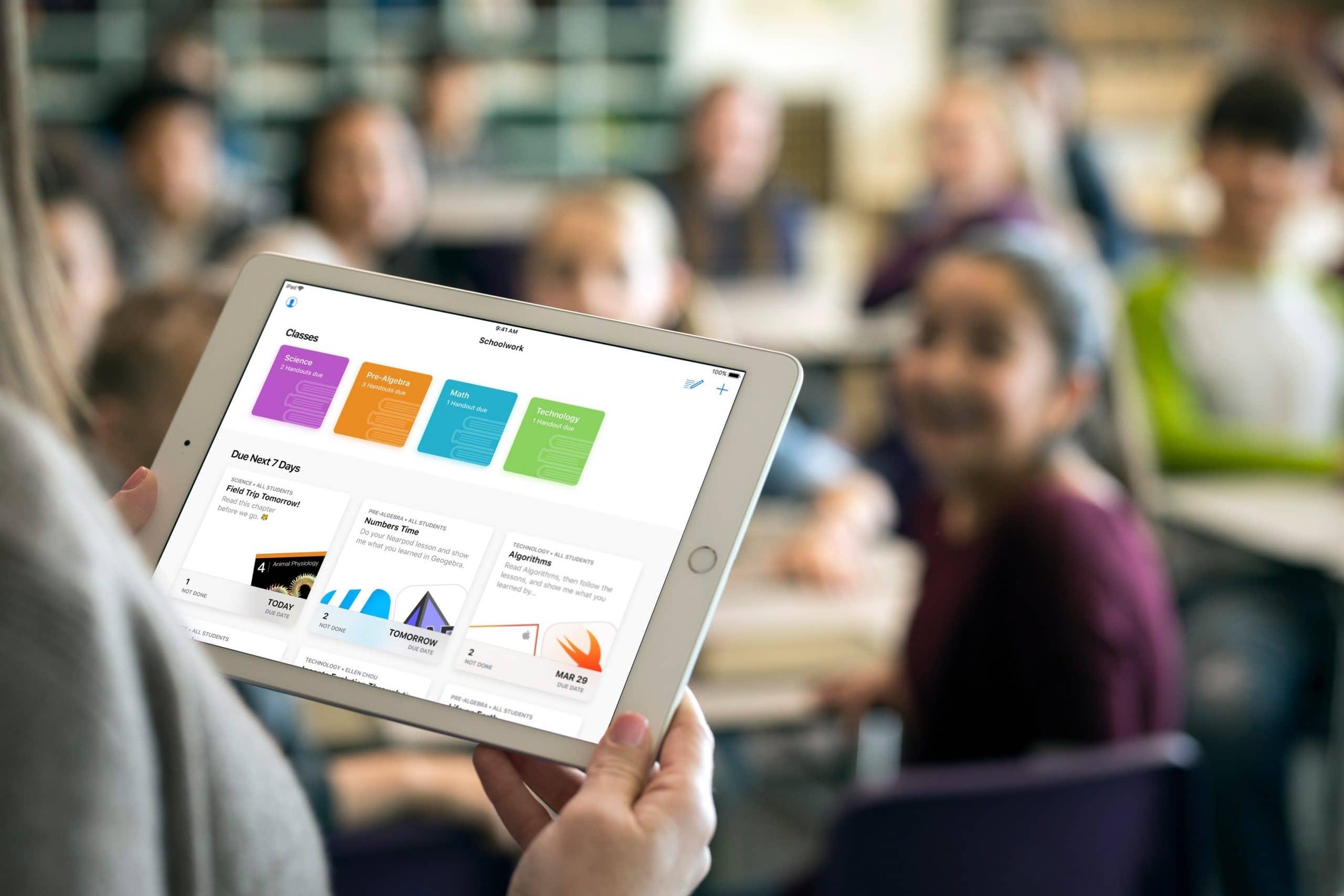 App Schoolwork para iOS