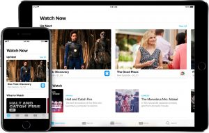 Aplicativo Apple TV para iOS