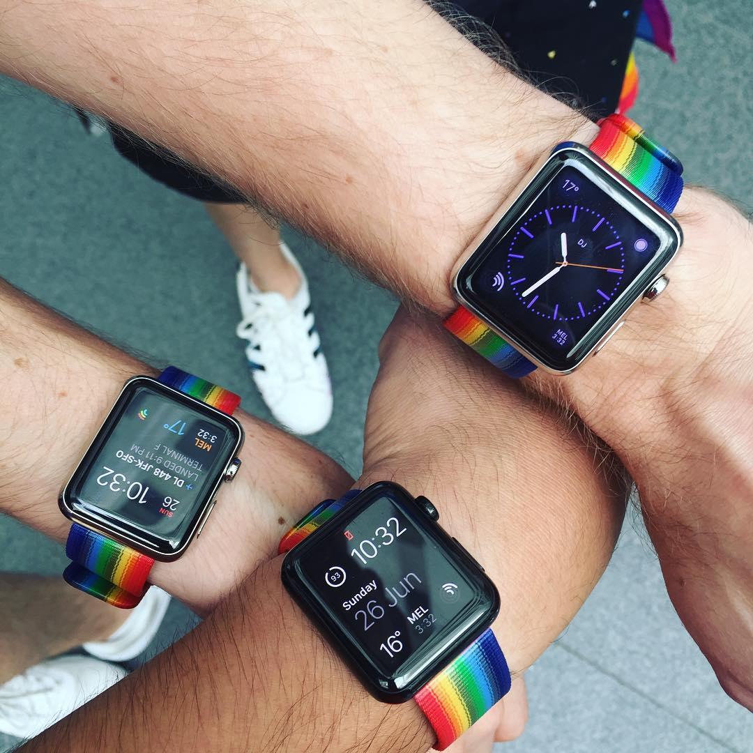 Pulseiras do Orgulho Gay pro Apple Watch (Pride)