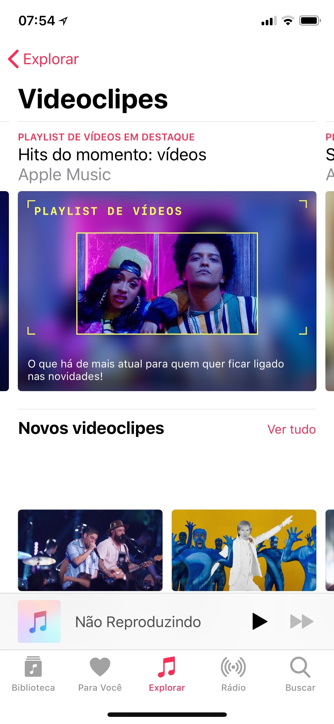 Apple Music Videoclipes