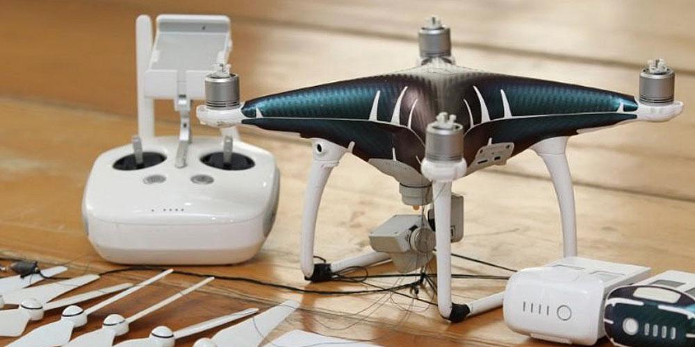 Drone contrabando de iPhones