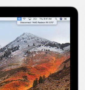 Suporte a eGPU no macOS High Sierra 10.13.4
