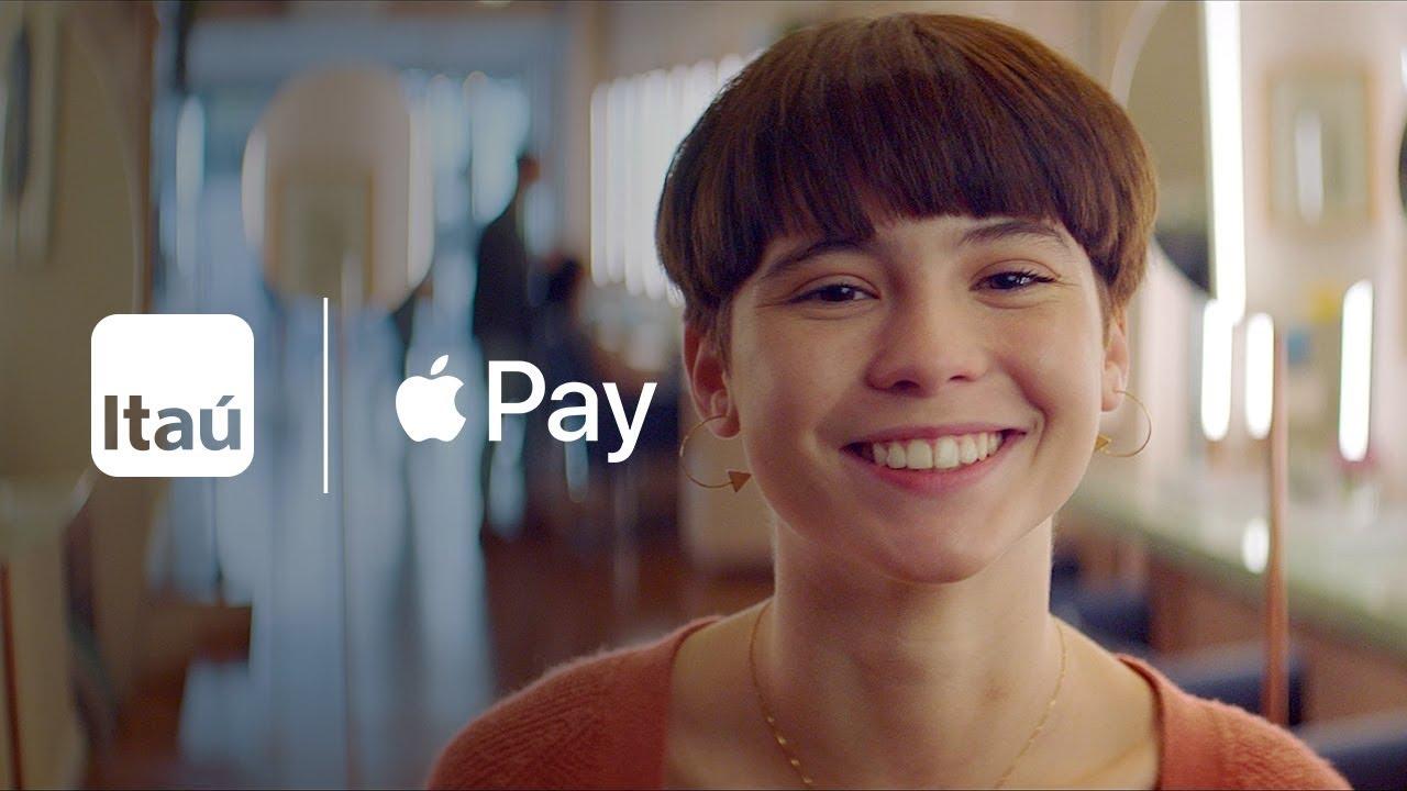 Comercial do Itaú para o Apple Pay