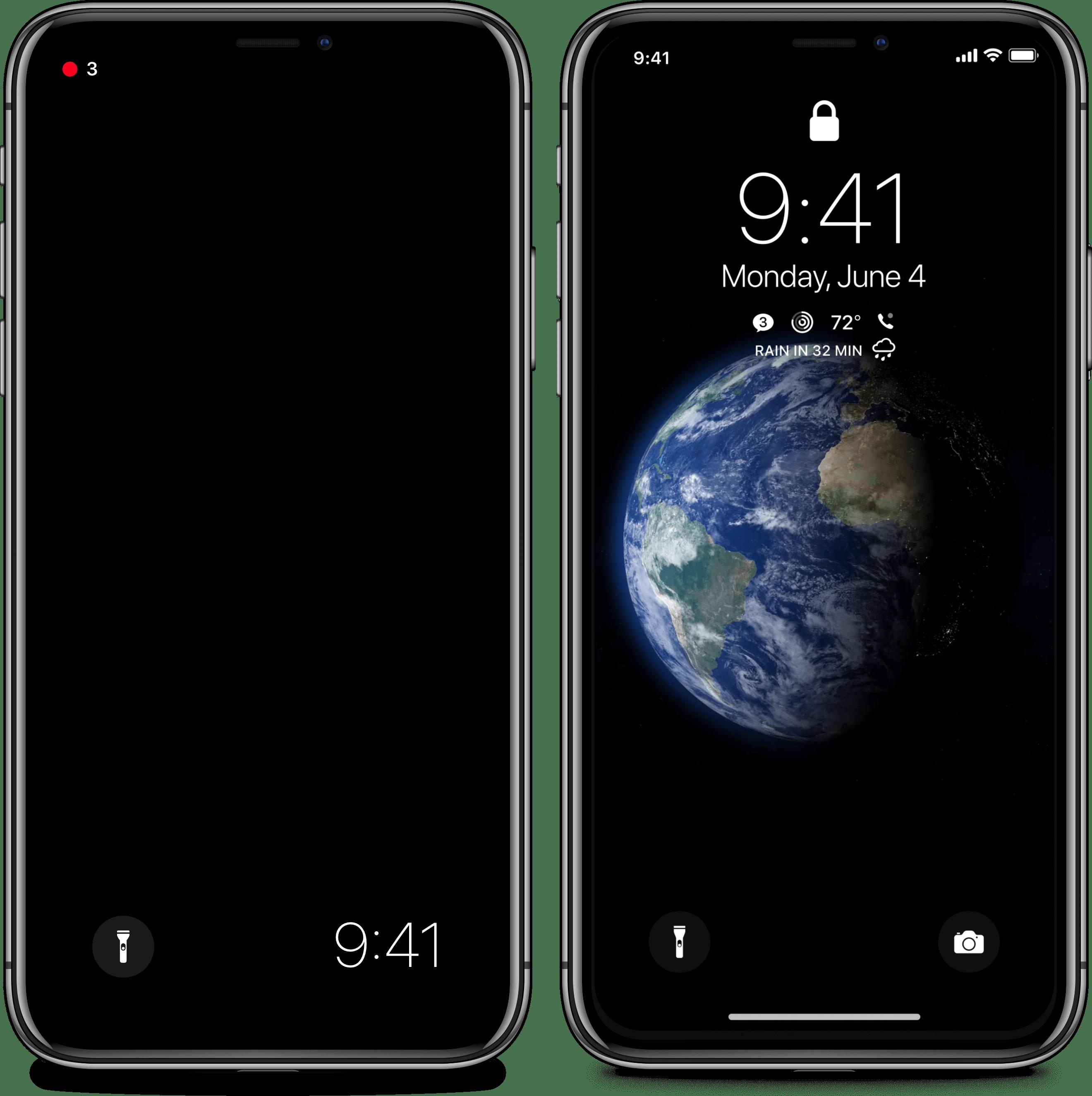 Conceito para o iOS 12