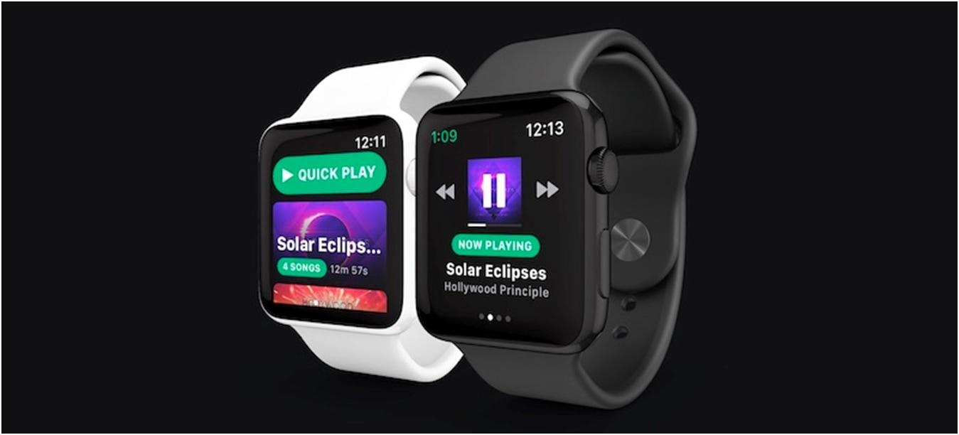 Suposto app Spotify para watchOS