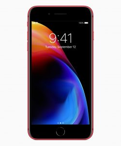iPhone 8 (PRODUCT)RED de frente