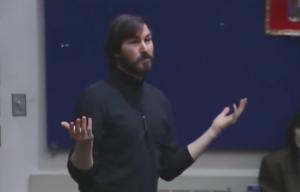 Steve Jobs no MIT, em 1992