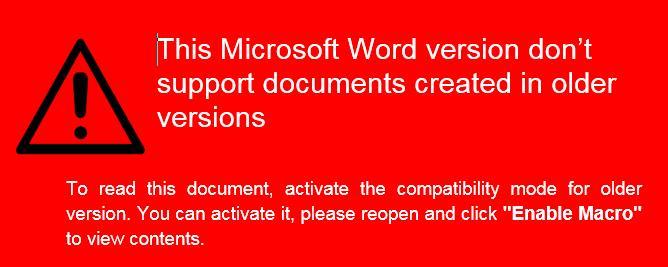 Novo Malware para Mac baseado no Word