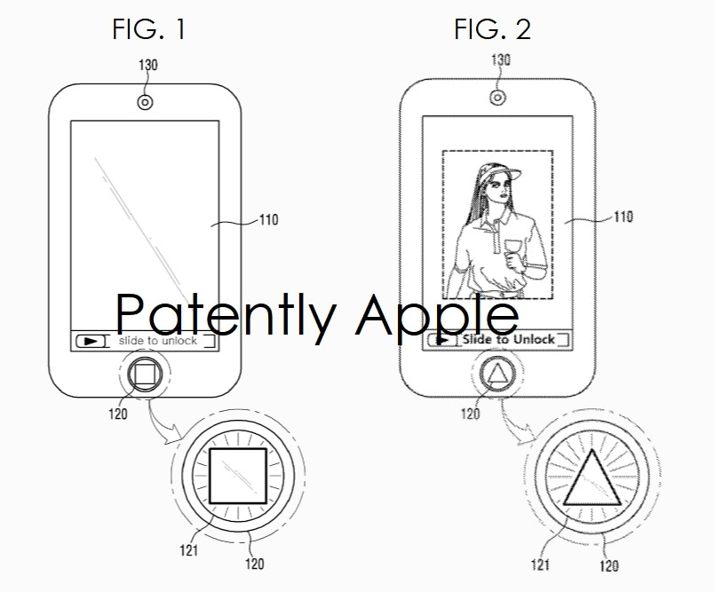 Patente da Apple referente ao Touch ID