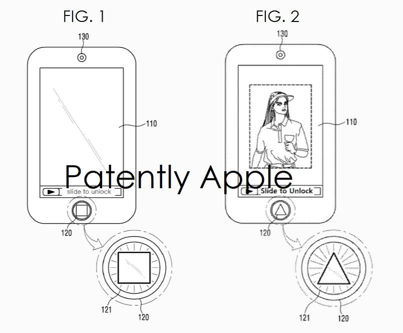 Patente da Apple referente ao Touch ID