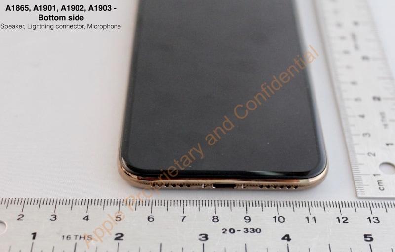 iPhone X dourado