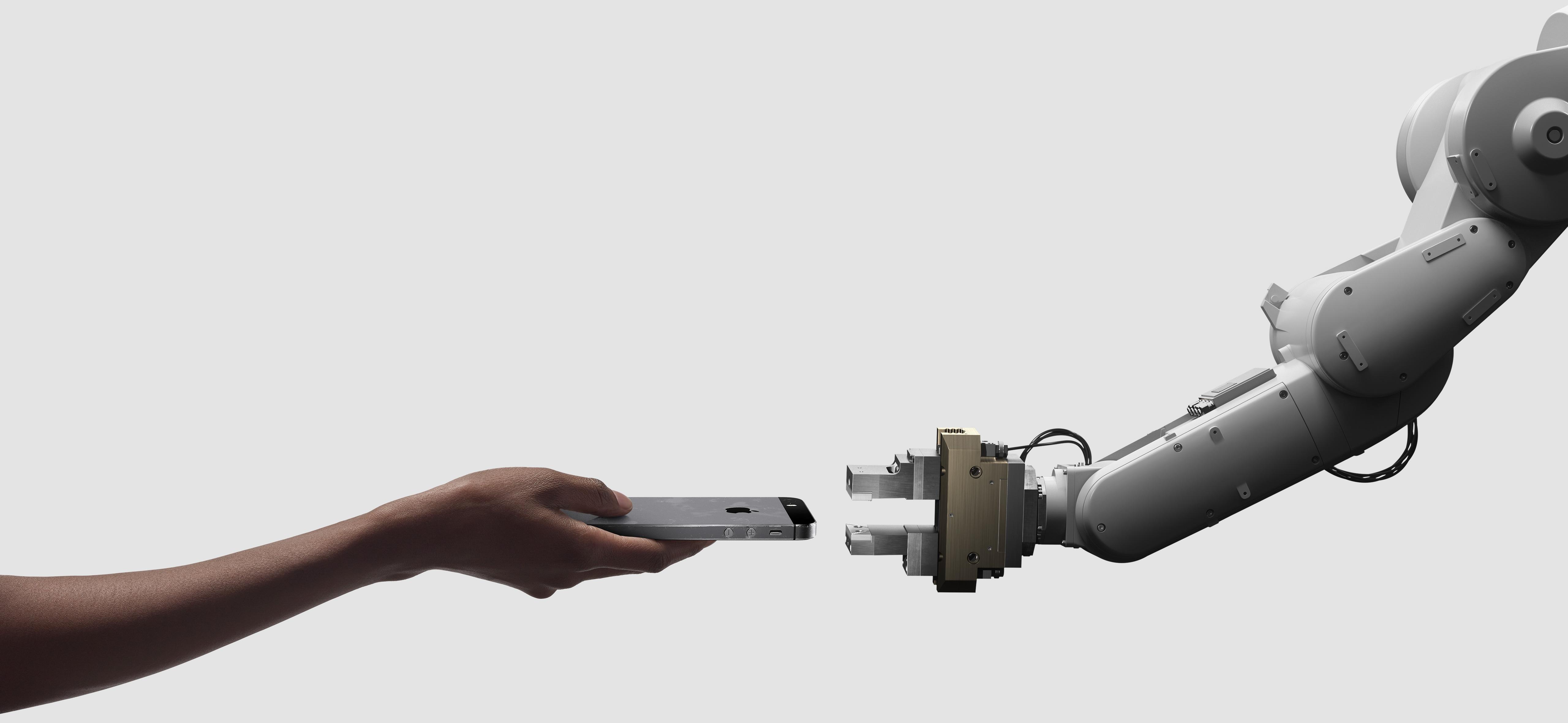 Daisy, robô de reciclagem da Apple